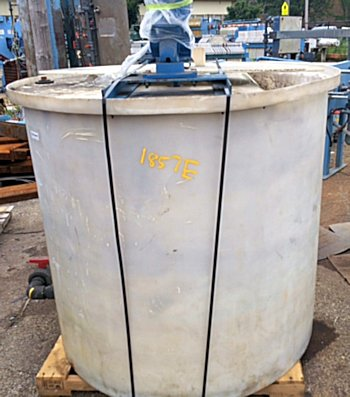 500 Gallon Polypropylene Mixing Tank - Metchem - Filter Press