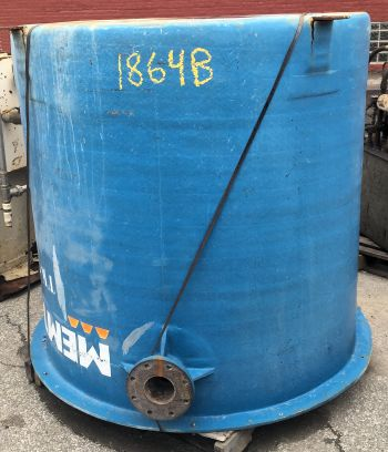 500 Gallon Fiberglass Tank - Metchem - Filter Press, Clarifiers