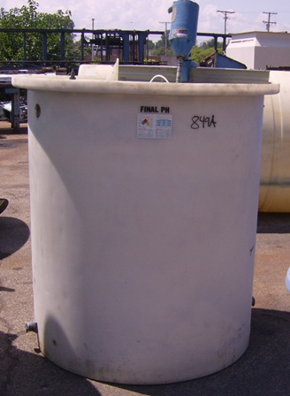 600 Gallon Molded Polyethylene Tank - Metchem - Filter Press
